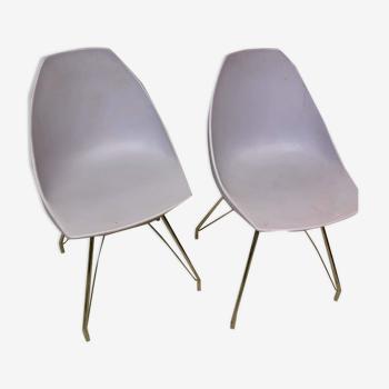 Paire de chaises midj