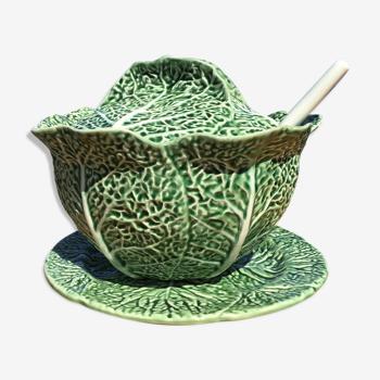 Cabbage soup set - Bordallo Pinheiro