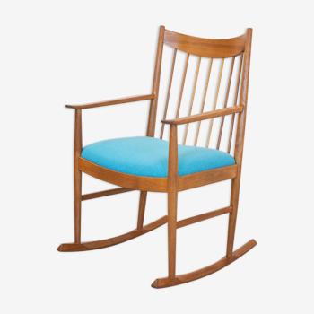 Rocking chair en teck danois par Arne Vodder pour Sibast