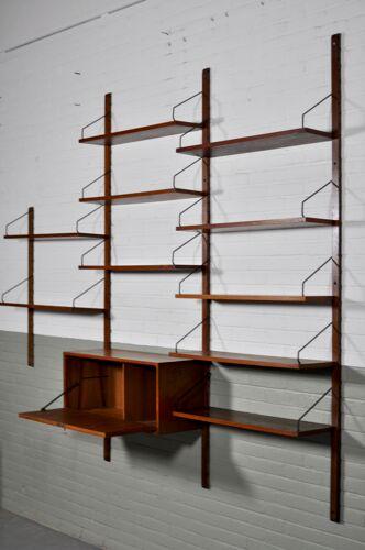 Etagères par Poul Cadovius Danish Royal Wall System