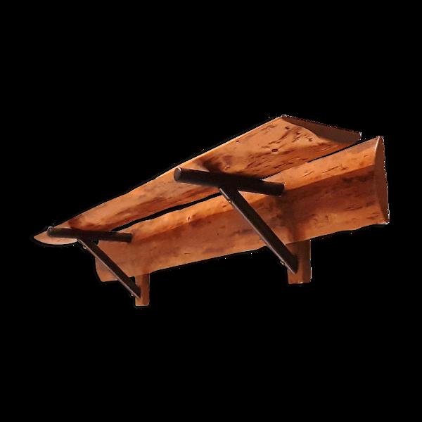 Etagère moderniste en bois forme libre, 1950s