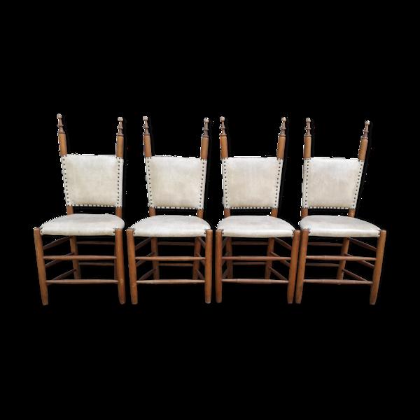Ensemble de 4 chaises de salle à manger