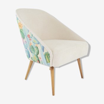 Fauteuil coquille cactus