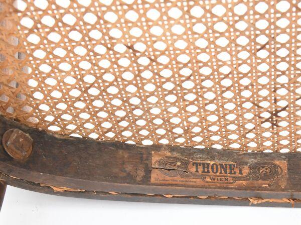 Paire de chaises bistro Thonet