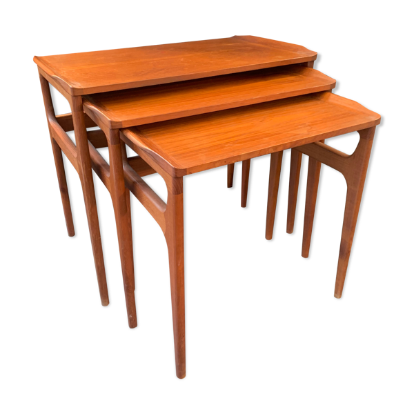 Table gigogne scandinave Erling Torvits 1960