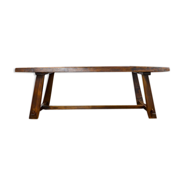 Selency Table rustique années 60/70
