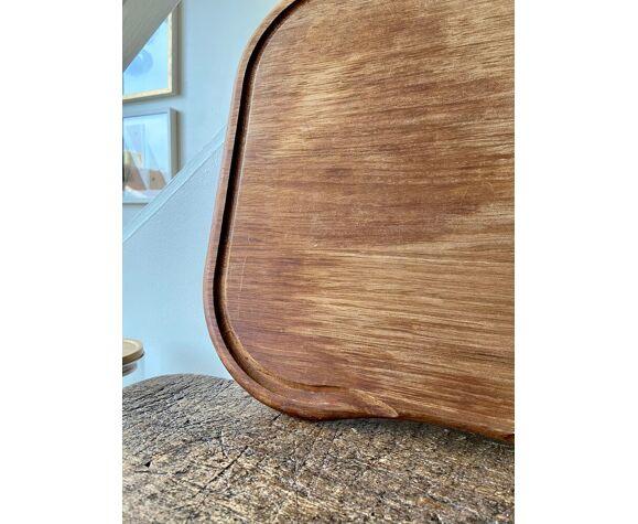 Planche à découper dessus d'évier en bois