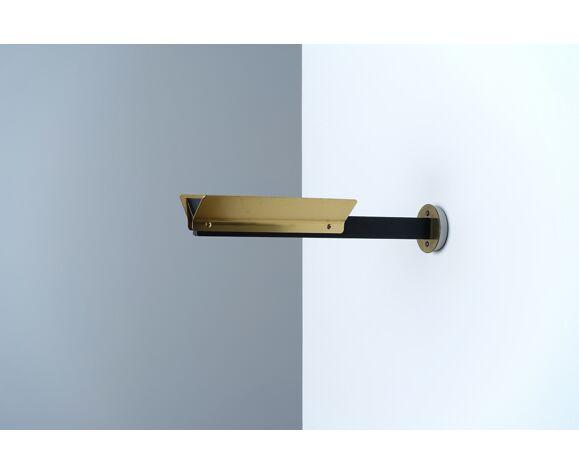Applique postmoderne dorée mod. 1065 de 1981 Pierre Disderot