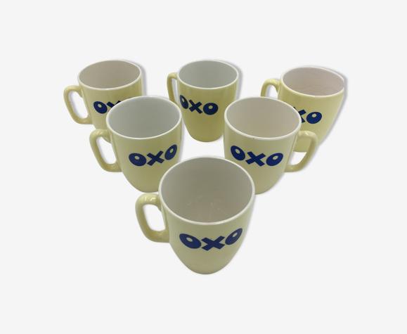 Lot de 6 mugs OXO