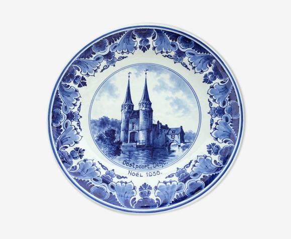 Decorative plate Oospoort Delft