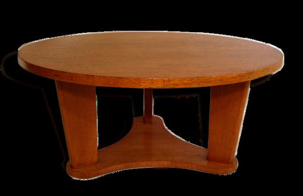 Selency Table basse en chêne - années 1950