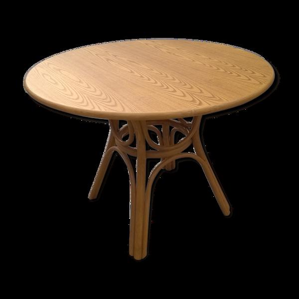 Table bambou et bois