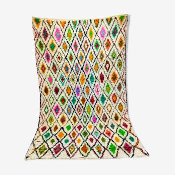 Tapis berbere marocain colore 246x160cm