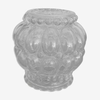 Globe en verre moulé