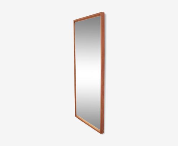 Miroir en teck d'Aksel Kjersgaard 104x41 cm