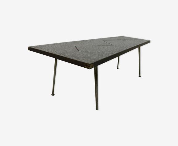 Table basse mosaïque de l'artiste allemand Berthold Müller
