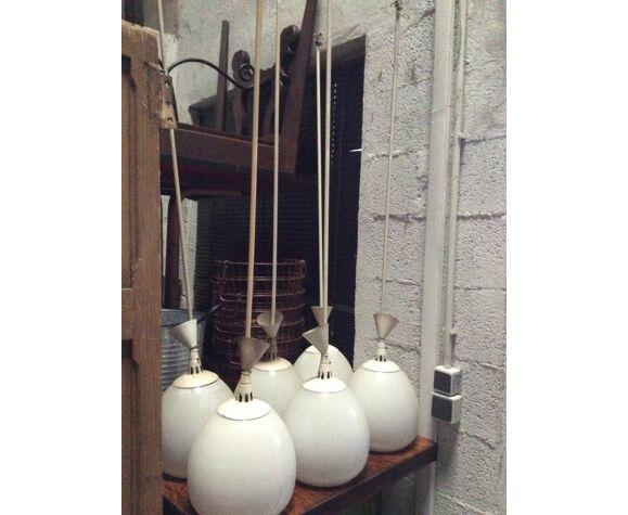 Lampe vintage industriel suspension