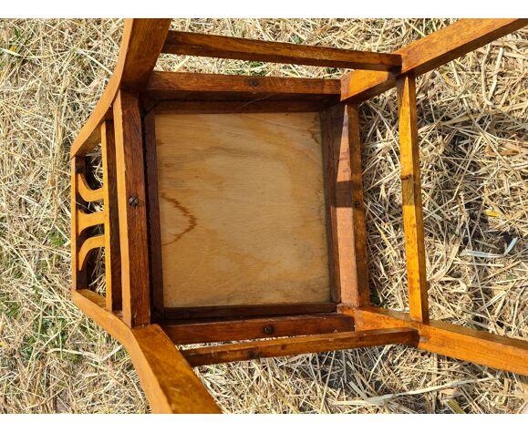 Lot de 5 chaises anciennes en bois