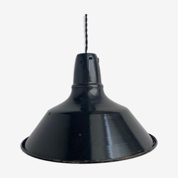 Suspension emaillee industrielle  40 cm