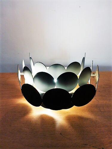 Paire d'applique de Doria Leuchten, 1960