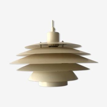Danish Suspension Lamp, 1970s