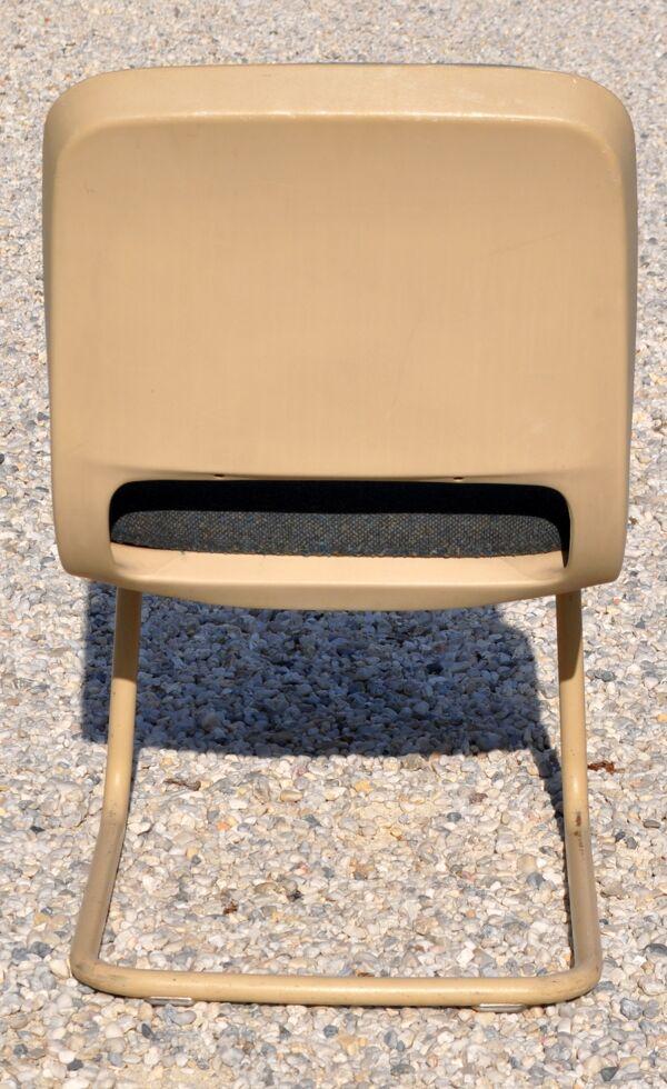 Chaise de bureau vintage 70's