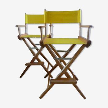 Chaises metteur en scène