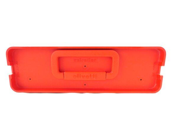 Machine à écrire Olivetti Valentine rouge révisée ruban neuf