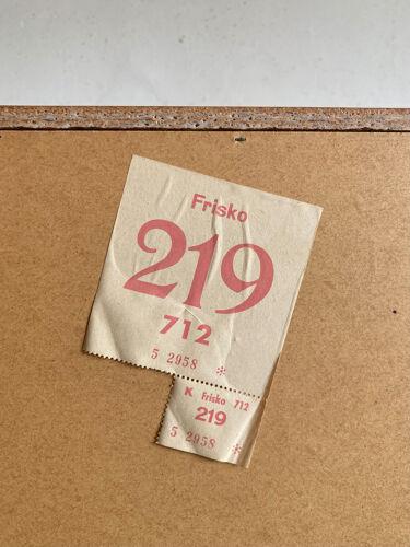 Enfilade pieds fuseaux ouest allemade 3K Möbel vintage années 60