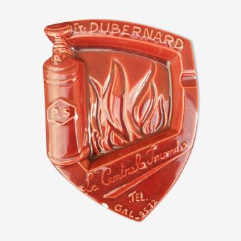 Cendrier Dubernard rouge