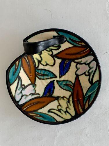 Céramique Montoise vide poches art déco