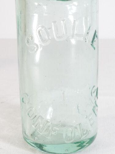 Bouteille de limonade a bille verre Soulie a Confolens en charente
