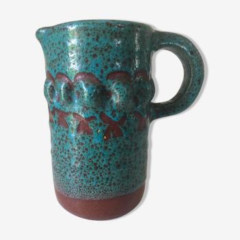 Pichet céramique accolay années 60
