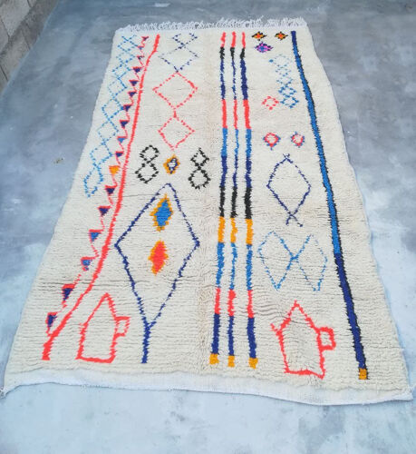 Tapis berbère tribal 247 X 143 CM