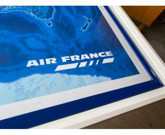 Affiche encadrée Air France 1999
