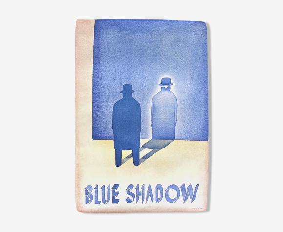 Blue shadow, Jean Michel Folon, 1980