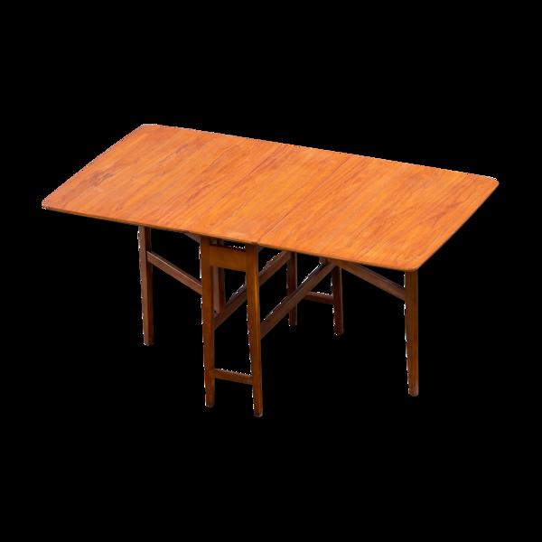 Selency Table scandinave vintage pliante