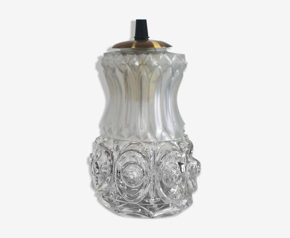 Baladeuse ancien globe en verre art déco