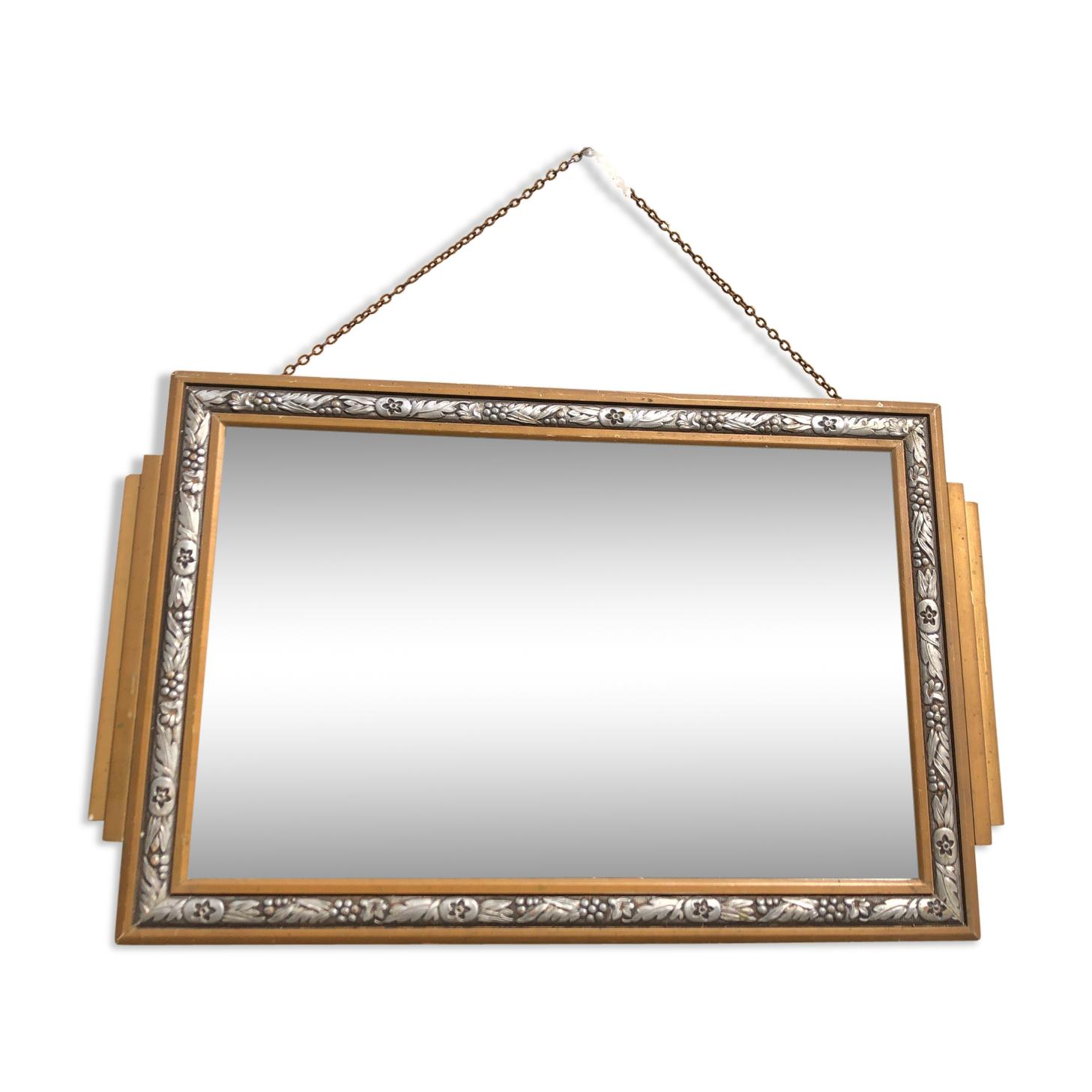 Miroir art déco 52x33cm
