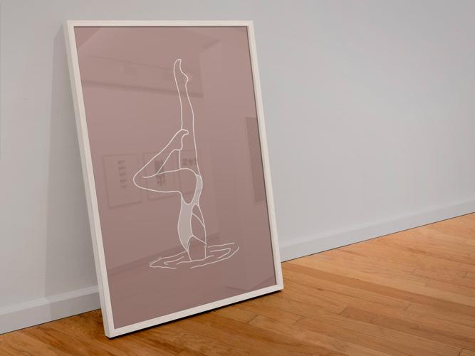 """Illustration """"Pousée en duo"""" par Noums Atelier"""