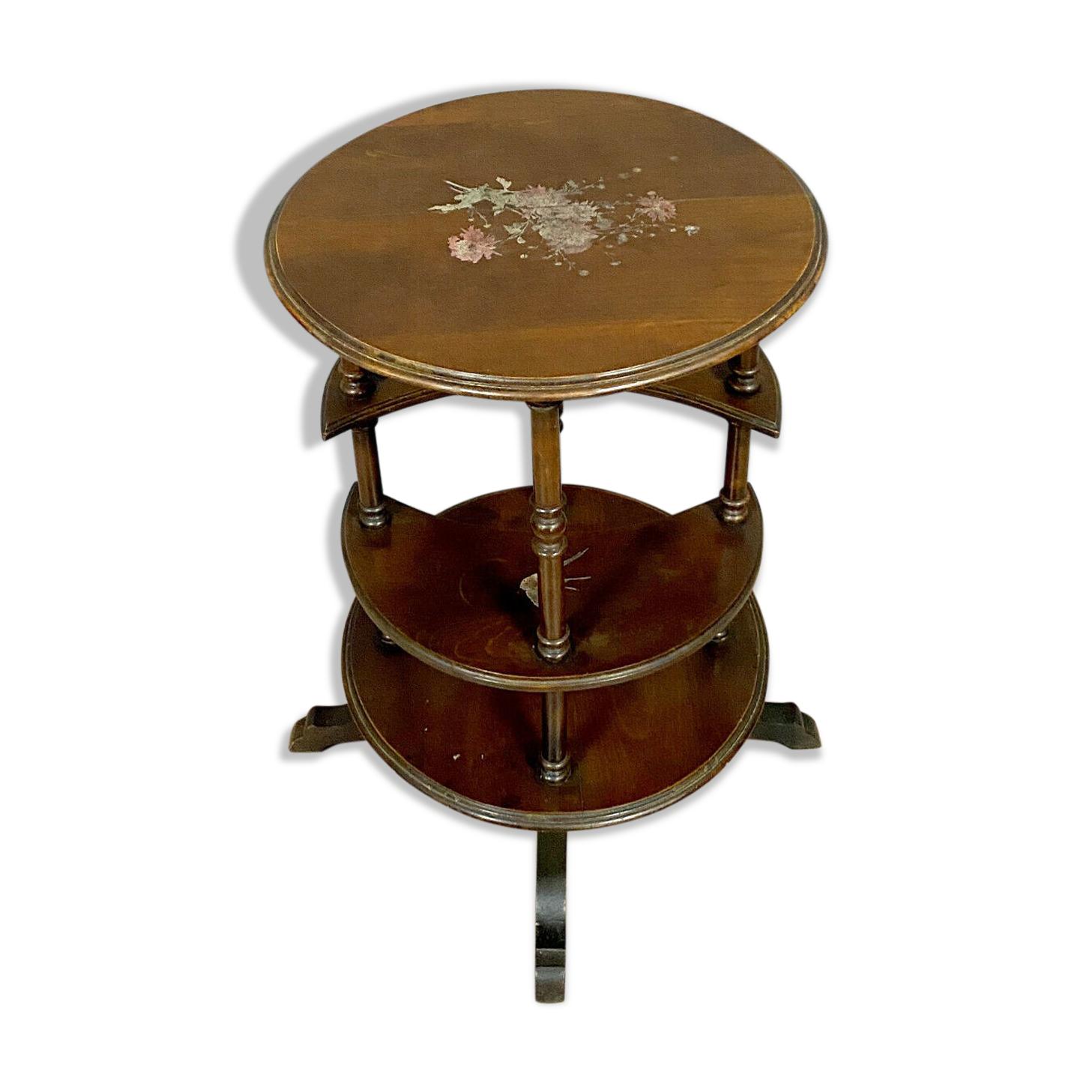 Table d'apparat japonisante époque Napoléon III