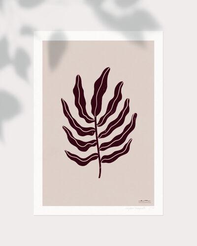 """Illustration """"Herbier moderne"""" #1"""