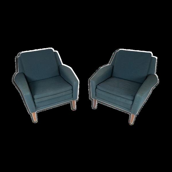 Ensemble de fauteuils de Fritz Hansen des années 1960