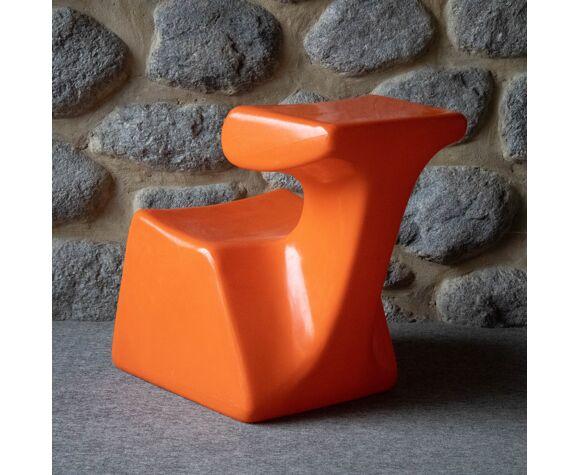 Chaise d'enfant 'Zocker' de Luigi Colani pour Top system Burkhard Lübke 1972