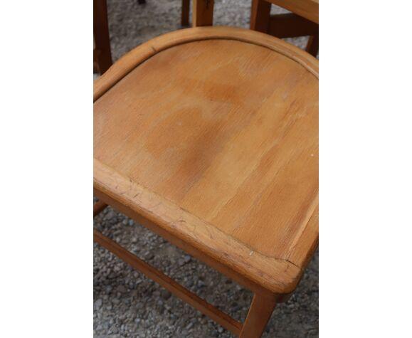 Lot de 7 chaises bistrot dépareillés