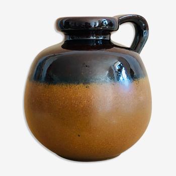 Vase en grès émaillé West Germany