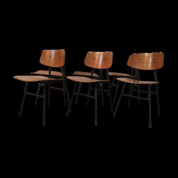 Selency 6 chaises vintage années 1970