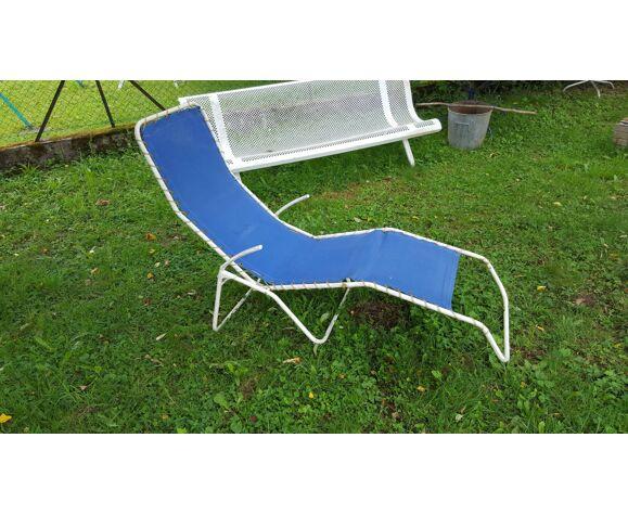 Chaise longue transat vintage Homa Danemark