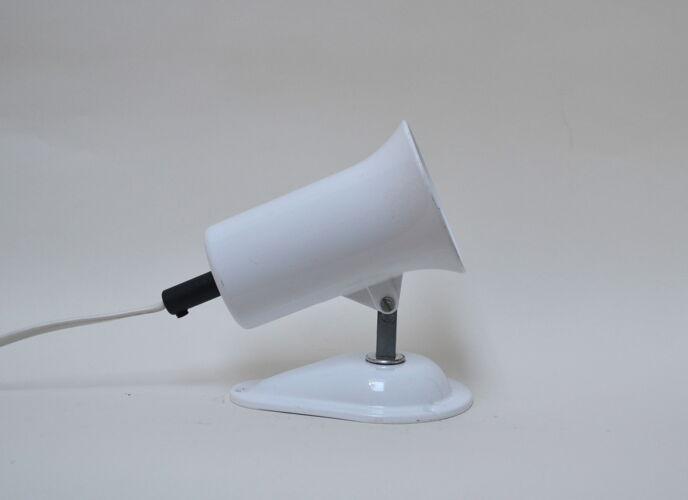 Lampe applique Lita blanche - spot vintage