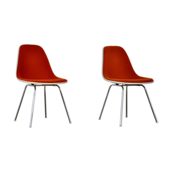 Paire de chaises Charles & Ray Eames édition Herman Miller 1960